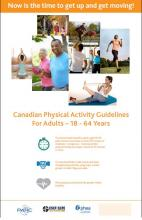 Adult Physical Activity Guidelines Poster - Ages 18 to 64