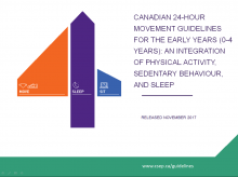 Canadian 24-Hour Movement Guidelines for the Early Years: An Integration of Physical Activity, Sedentary Behaviour, and Sleep