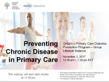 Preventing Chronic Disease in Primary Care Slide Image